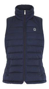 Aster padded vest L NAVY