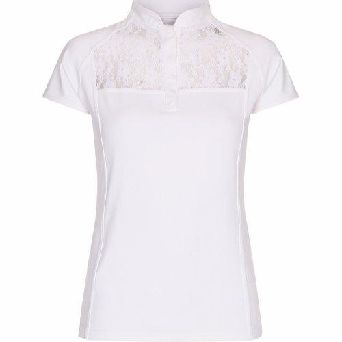 Orinoco Lace Shirt KIDS HVIT