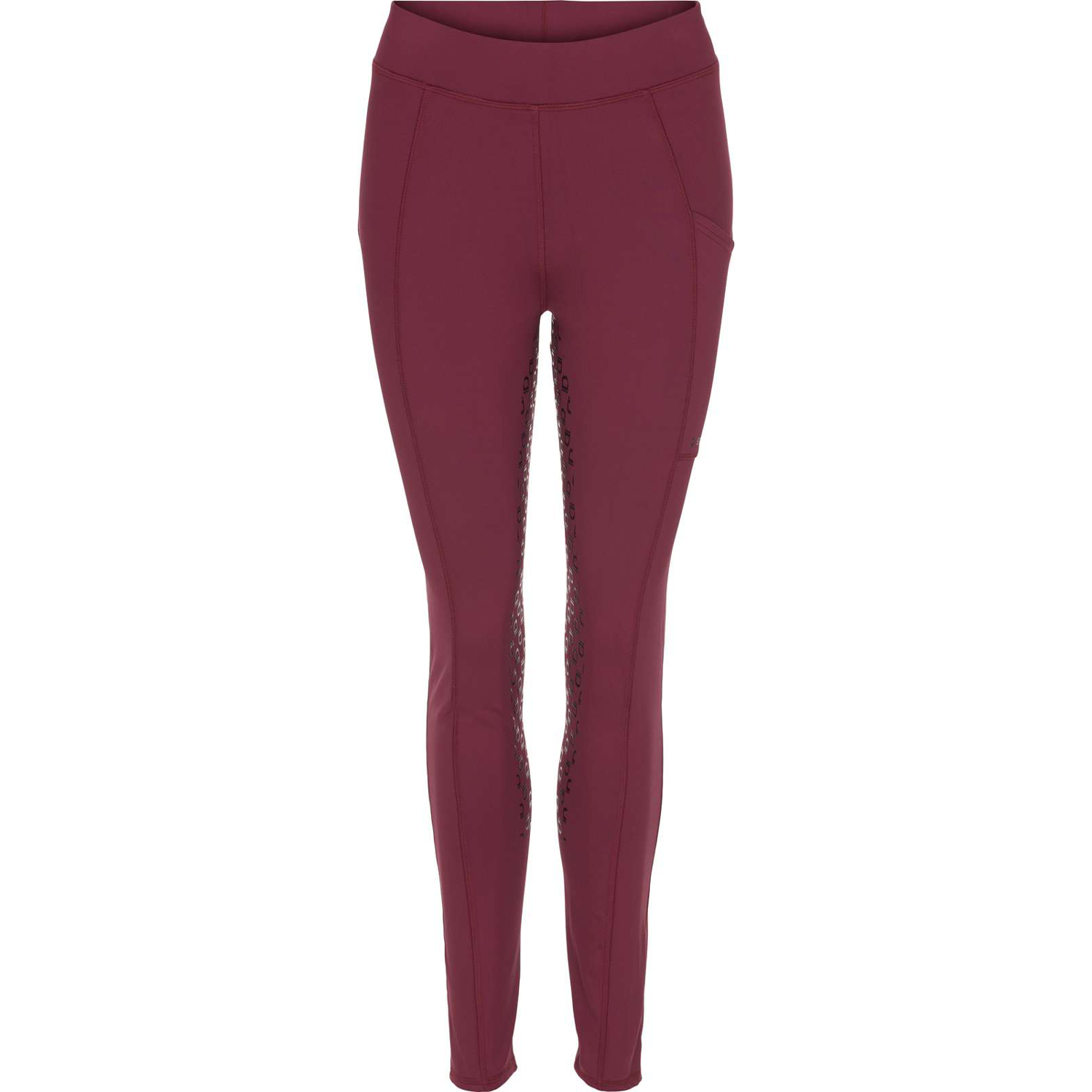 Equipage Dalena F/G leggings Deep Berry