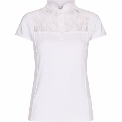 Equipage Orinoco stevneskjorte med blonder