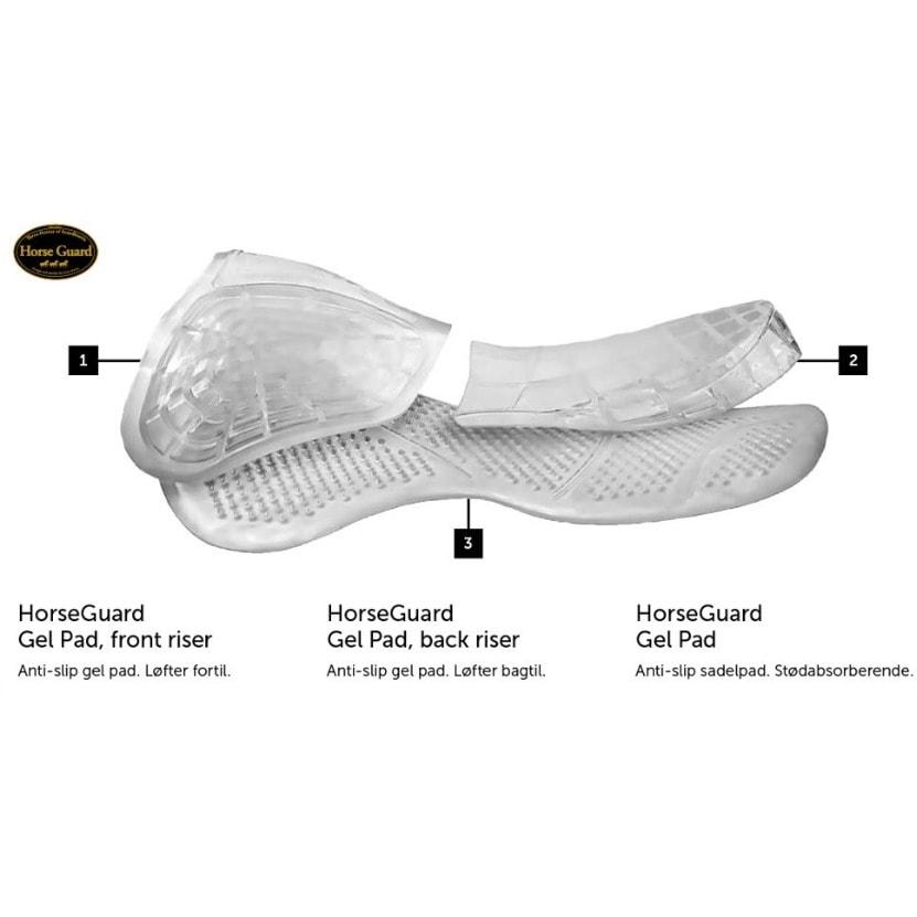 HorseGuard gel pad back riser