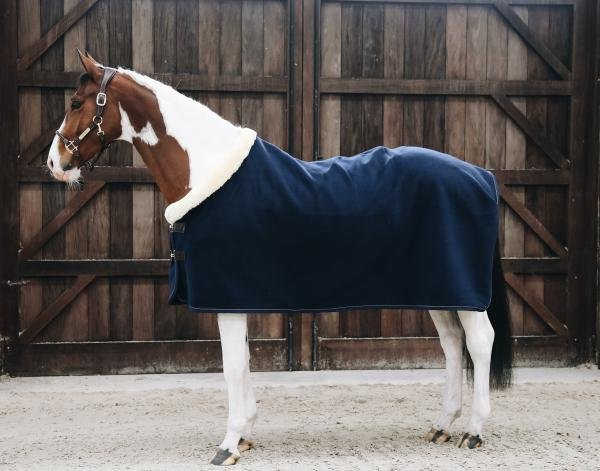 Kentucky Fleece Show Rug Heavy Navy
