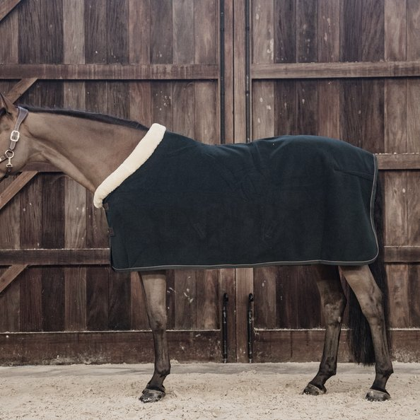 Kentucky Fleece Show Rug Heavy Pine Green