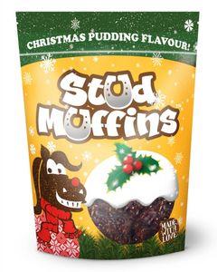 Stud Muffins Christmas Pudding Flavor