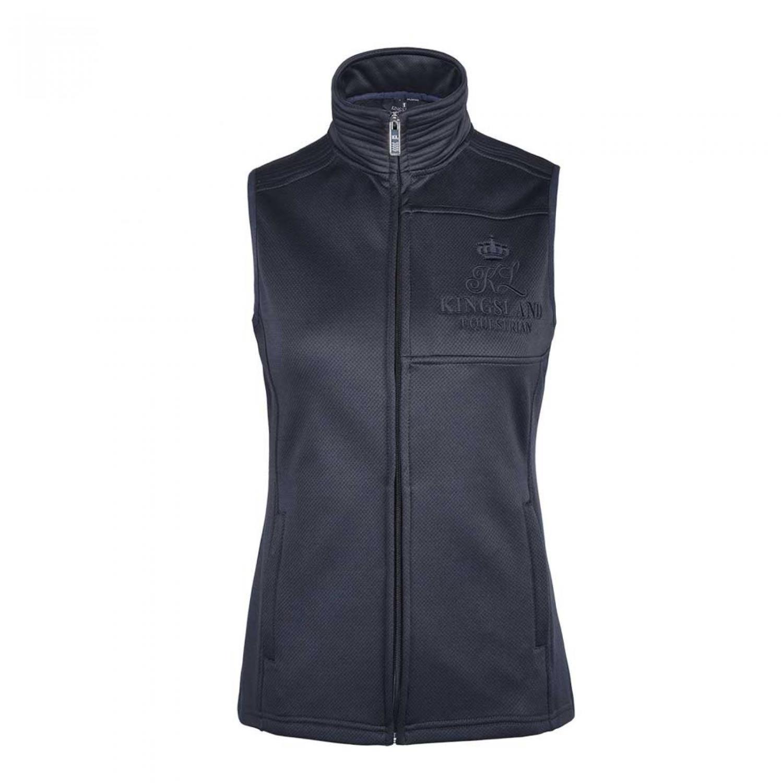 KLIdella Fleece vest Navy
