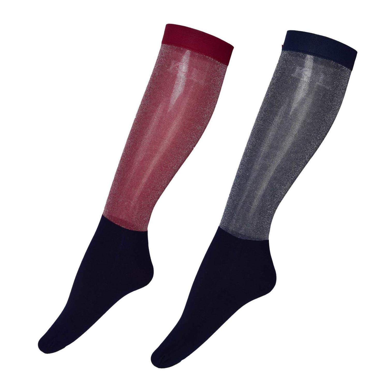 KL Glitter Show Socks 2pk. one size