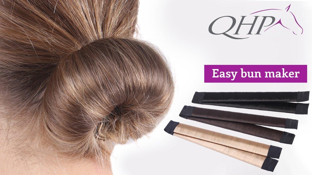QHP Hair Bun Maker