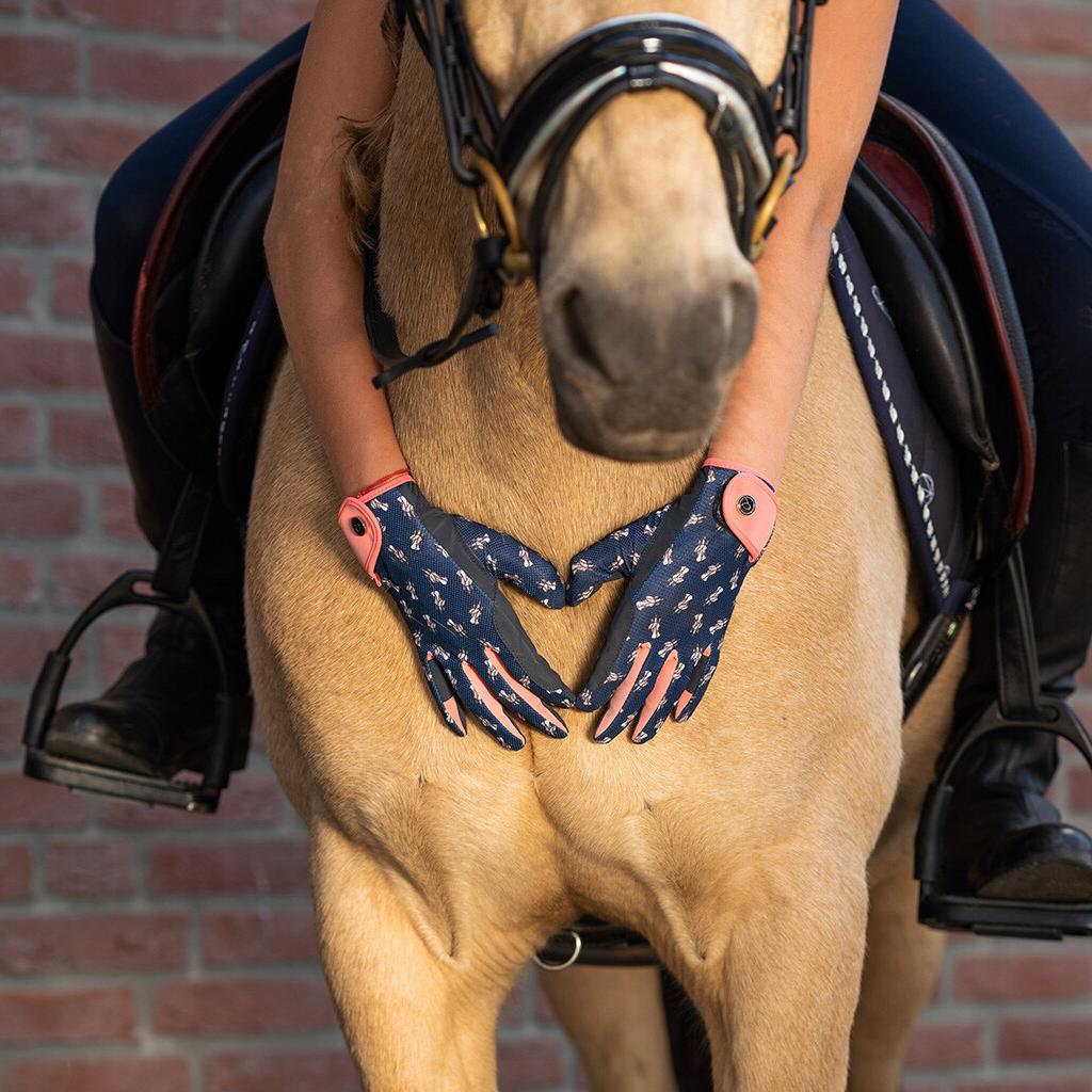 QHP Sanna Sommer Ridehanske Junior