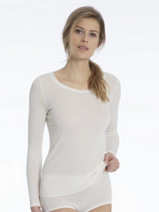 Calida, ull/silke, langermet