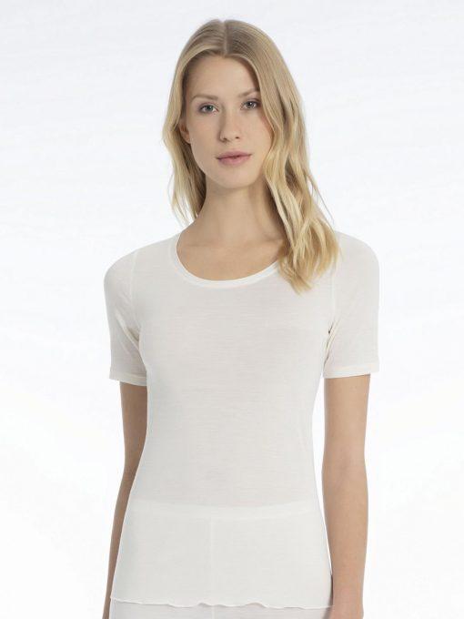 Calida, ull/silke, t-shirt