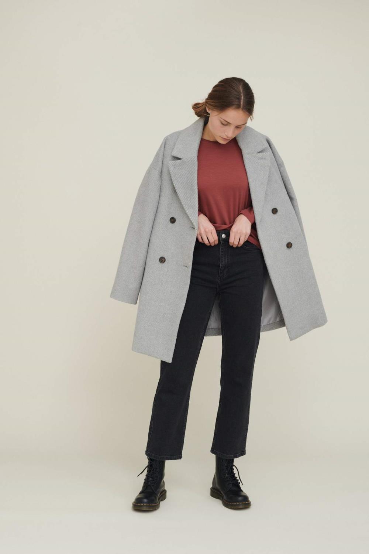 Cleo coat Solide