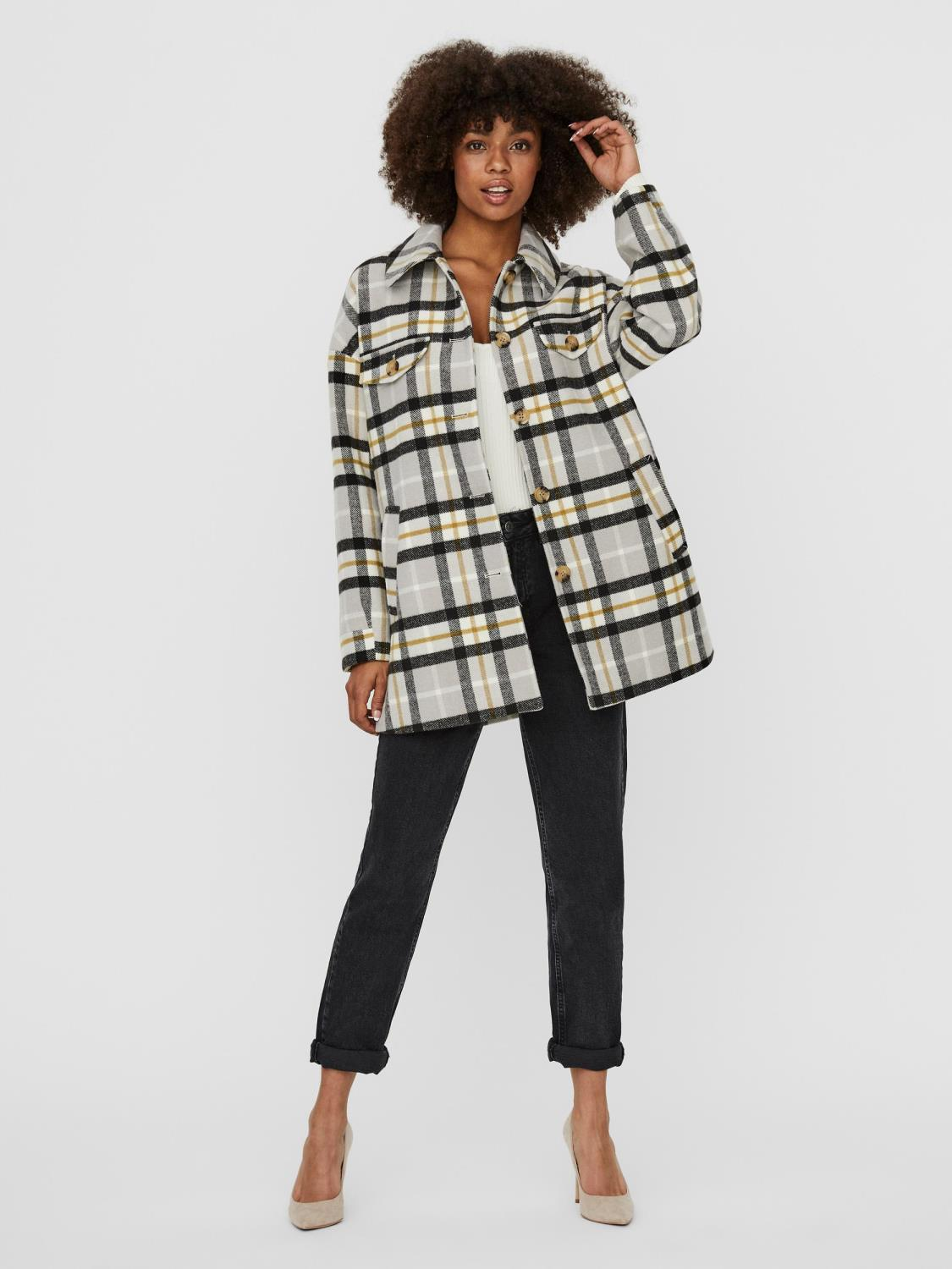VMCALAKERRY CHECK JACKET GA