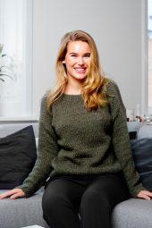 Kala Knit Sweater olive