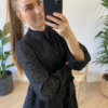 Alexa Dress Cotton Black