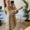 Alexa Dress Cotton Camel