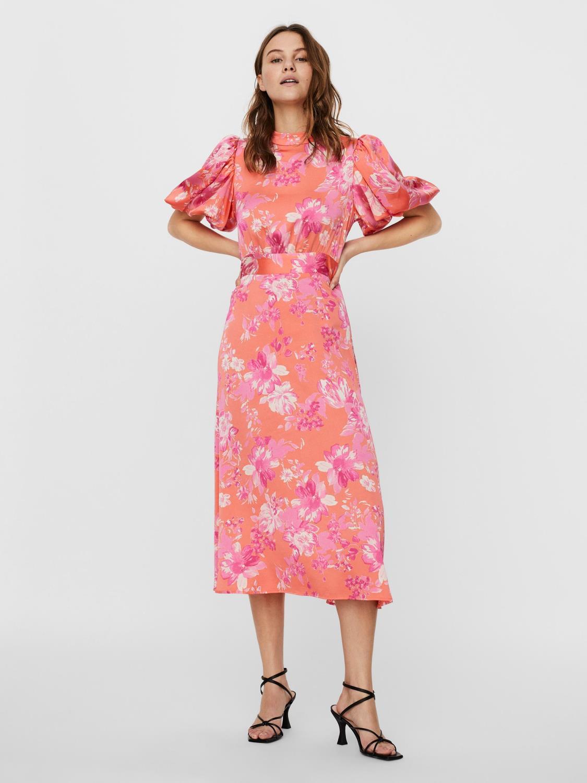 VMJULIA 2/4 PUFF 7/8  DRESS