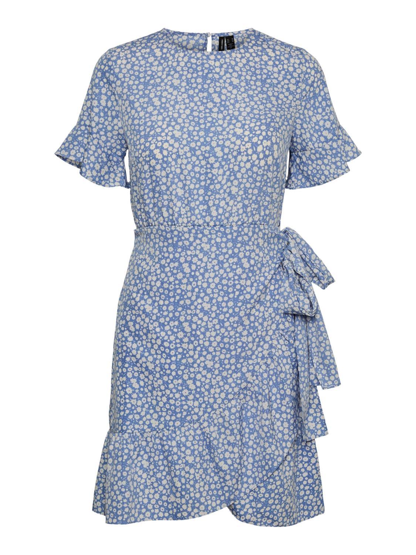 VMHENNA 2/4 O-NECK SHORT DRESS Regatta