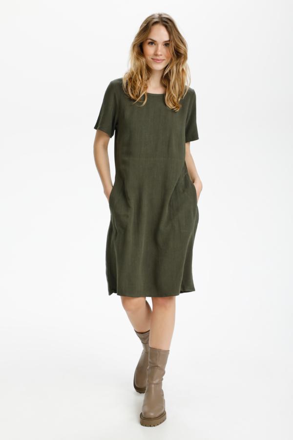 KAliny Dress Army