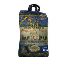 5 STAR Basmati Ris 20kg