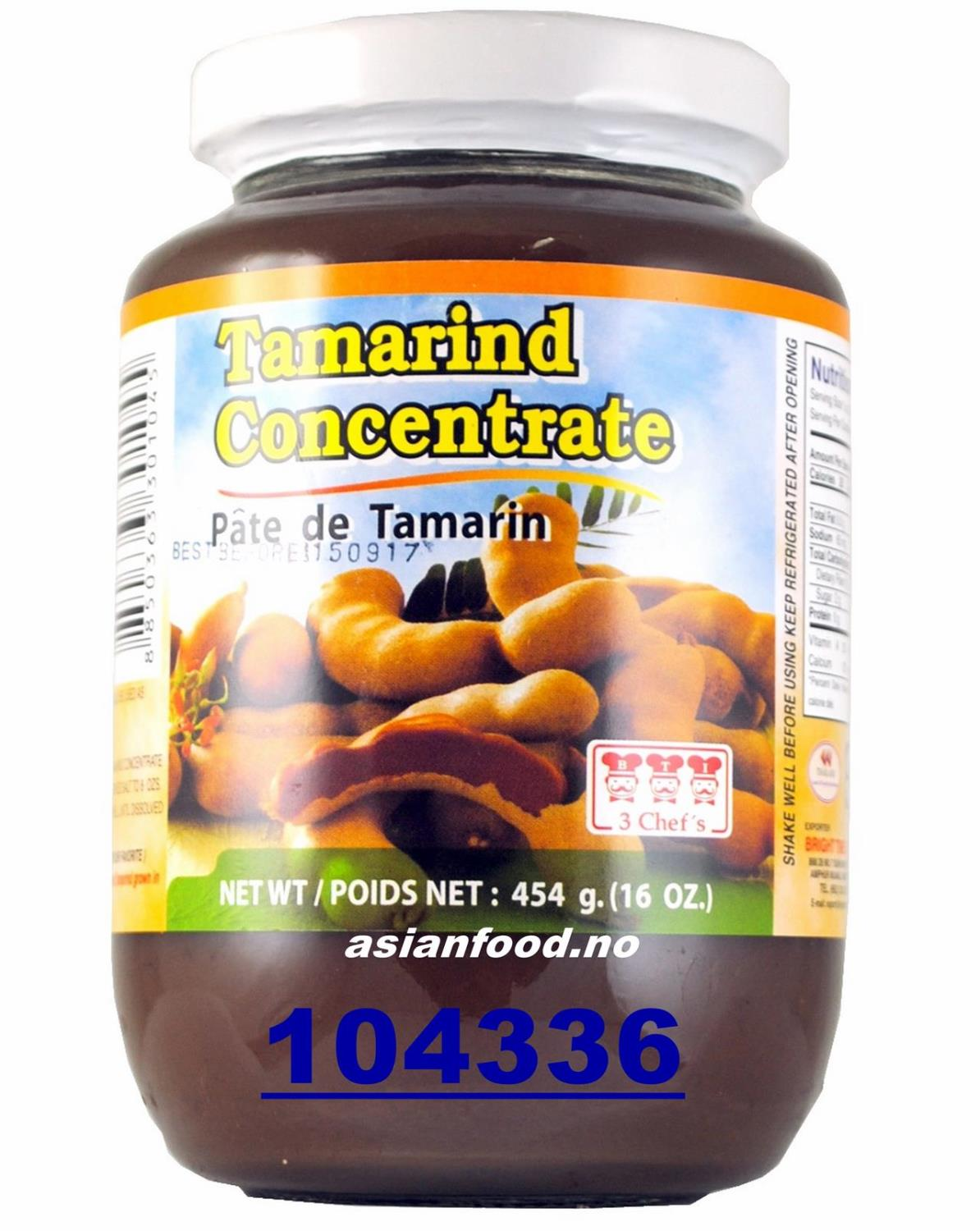 3 CHEFS Tamarind concentrate 454g