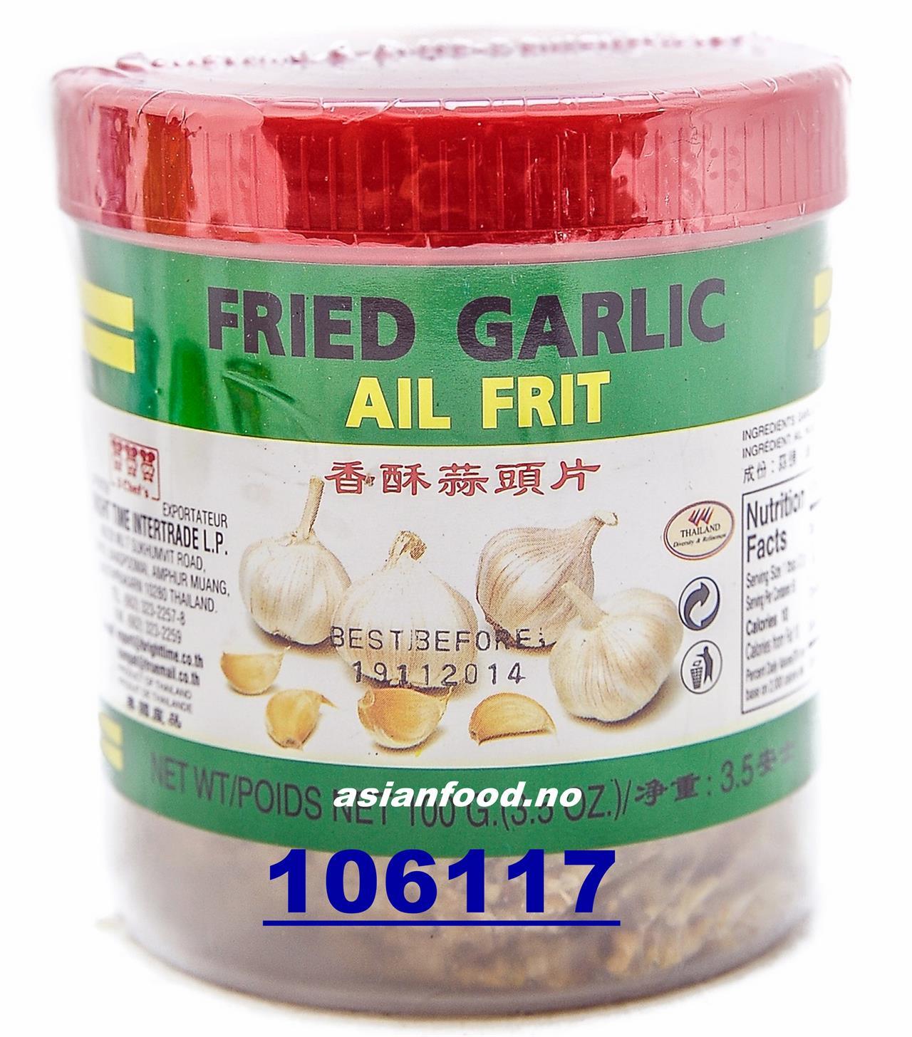 3 CHEFS fried garlic 100g