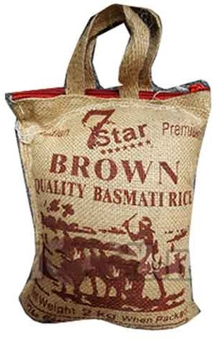 7 STAR Basmati Ris Brown 2kg
