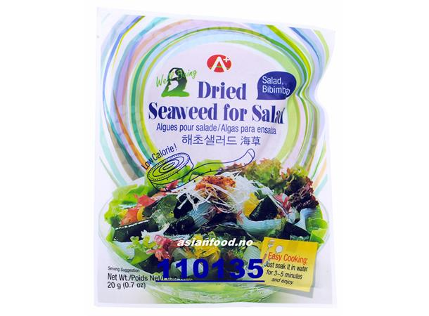 A+ Dried Seaweed For Salad 20g