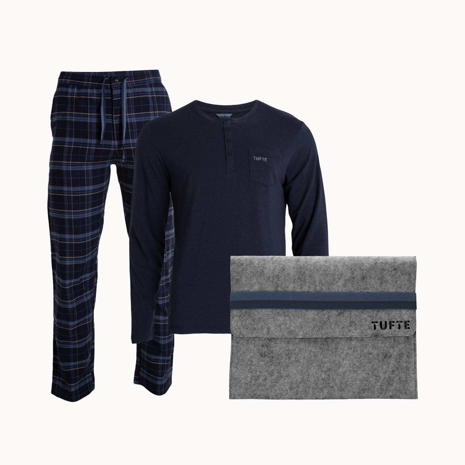 Tufte Wear  Mens Pyjamas Set
