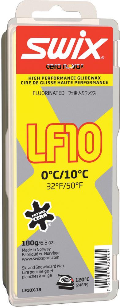 Swix  LF10X Yellow,  0°C/10°C, 180g