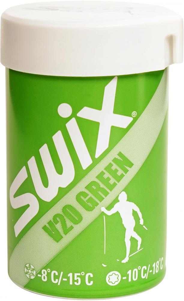 Swix  V20 Green Hardwax-8/-15C , 45g