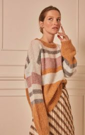 SLSass Stripe Pullover LS