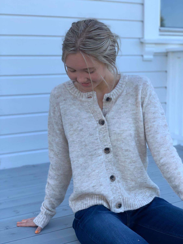 Vifunkla knit L/S Cardigan