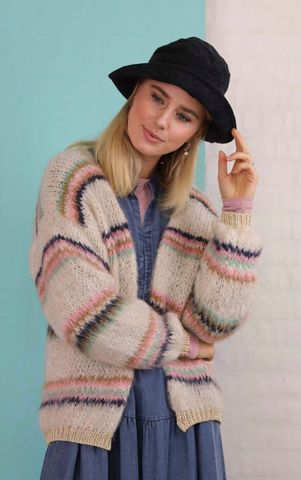Tanne Brushed Cardigan
