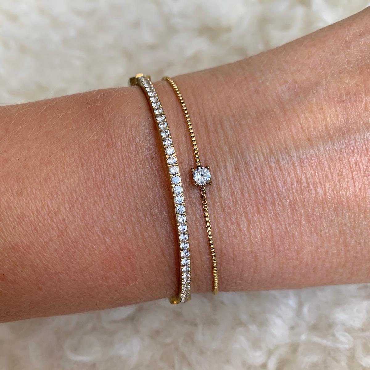 Artnr 2111247 Ice Bracelet Gold