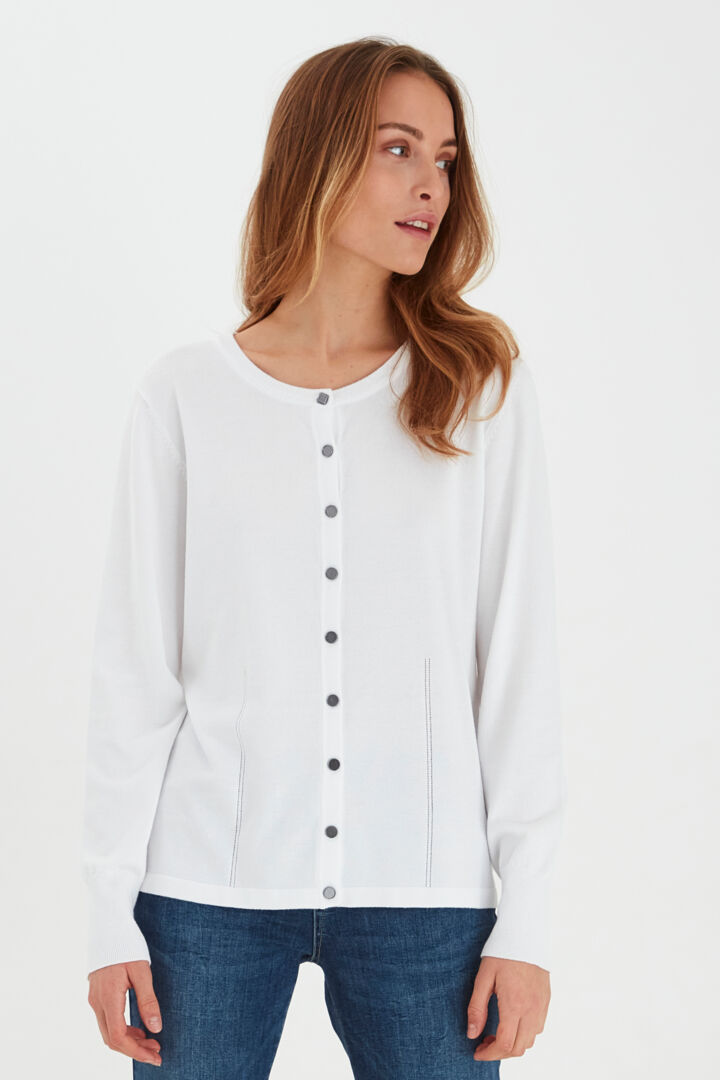 PZSara cardigan Bright white