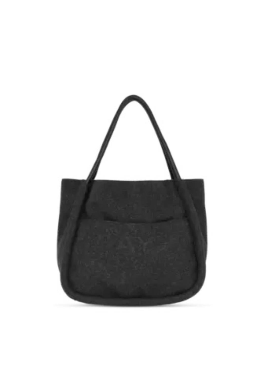 Day Woolen small shopper- grey