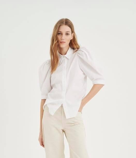 HeyalW Short Shirt - Pure White