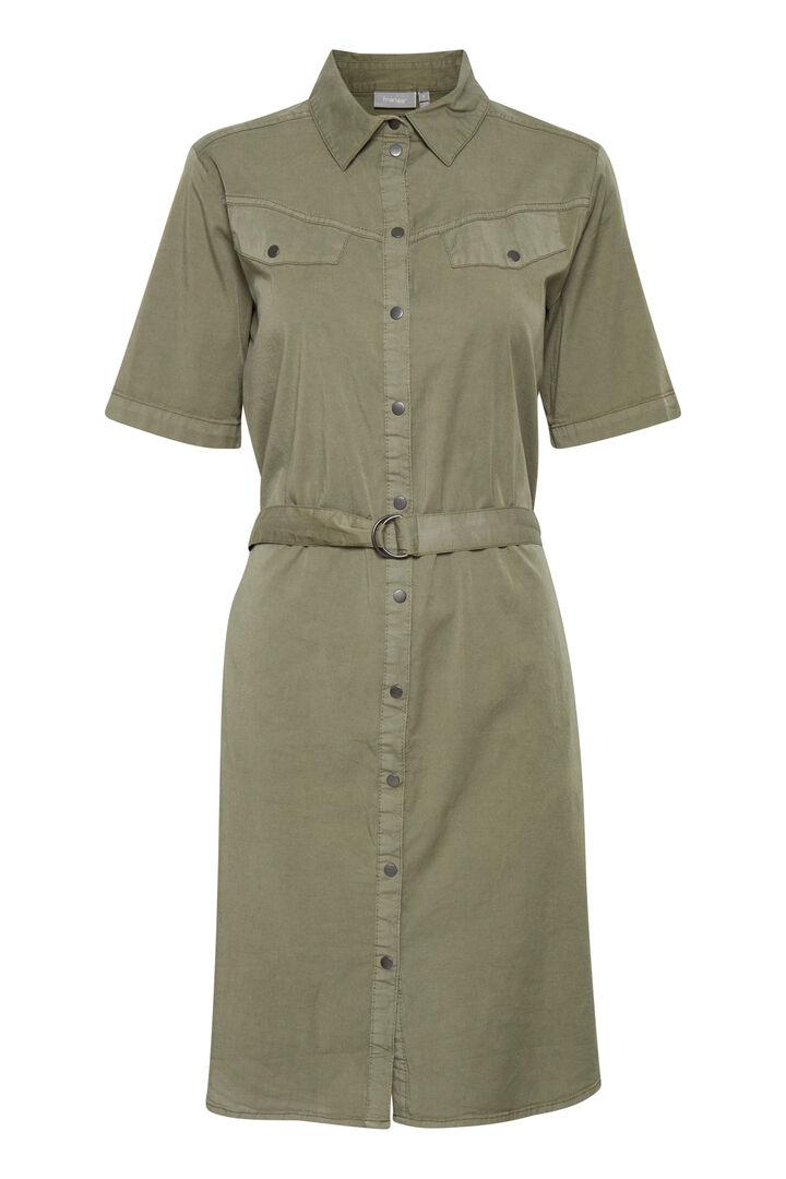 FRVOCRISP 3 Dress - Hedge