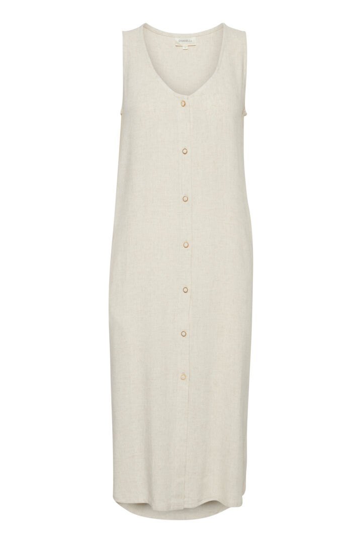 DRAPETAL 3 Dress - Whitecap Gray M