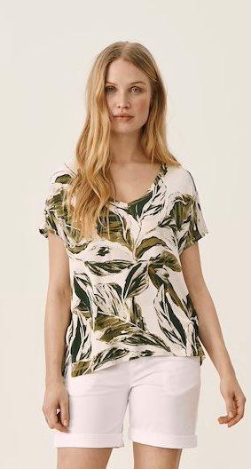 IcalinaPW ts - Green palm print
