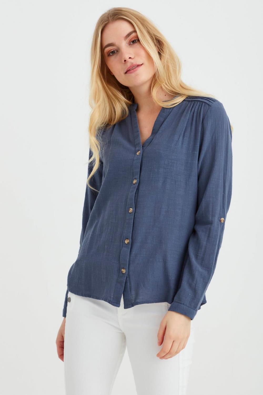 FRALSLUB 7 Shirt - Vintage indigo