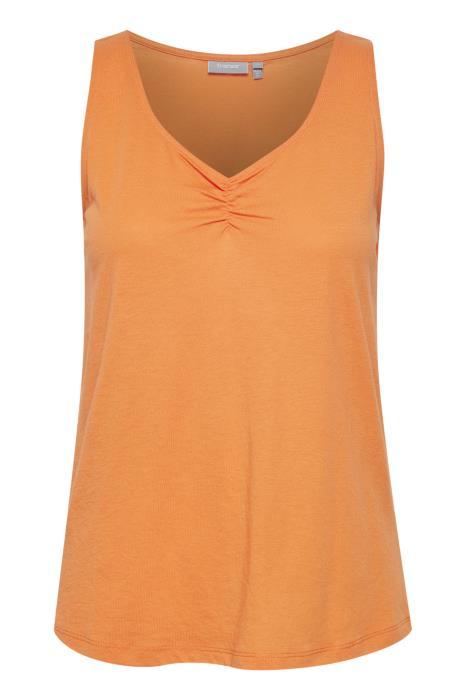 FRAMHILLA 3 Top - Dusty orange