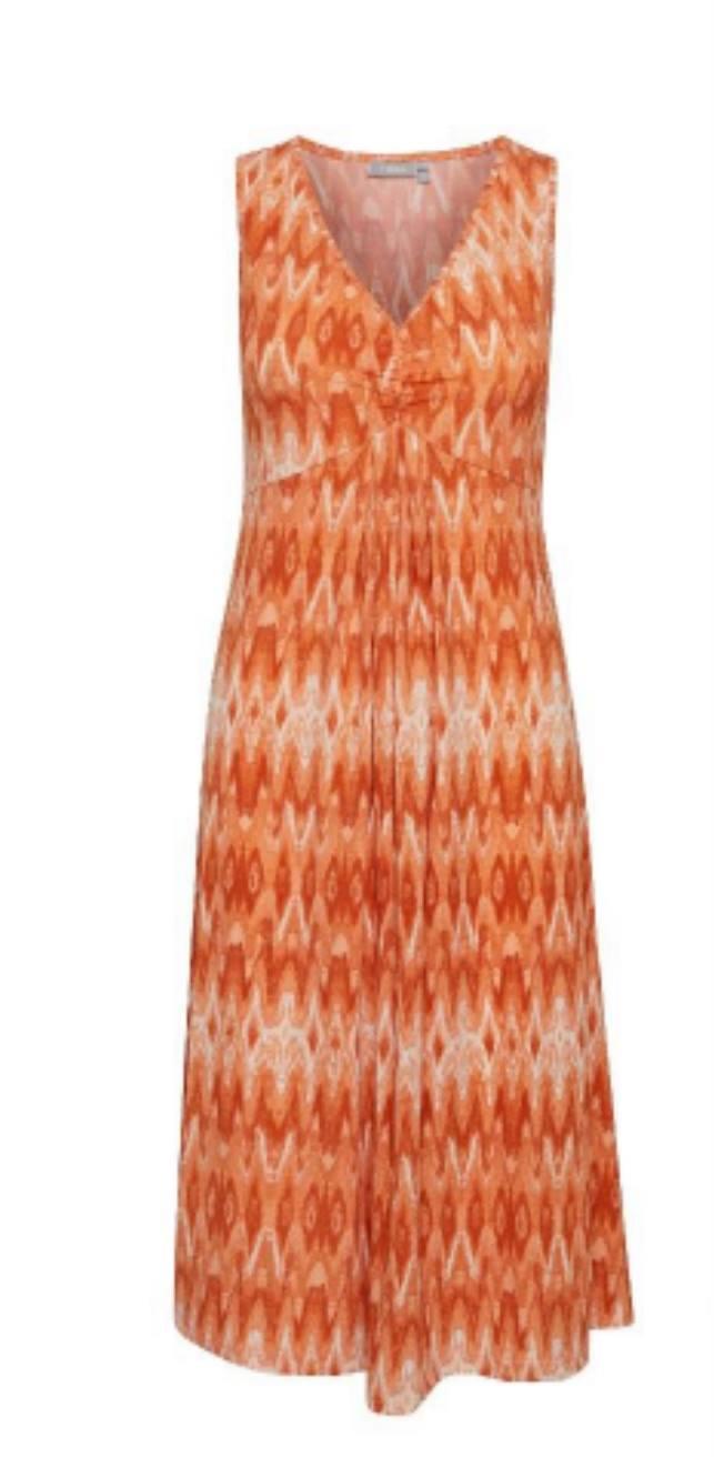 FRAMSELFA 1 Dress - Dusty Orange Mix