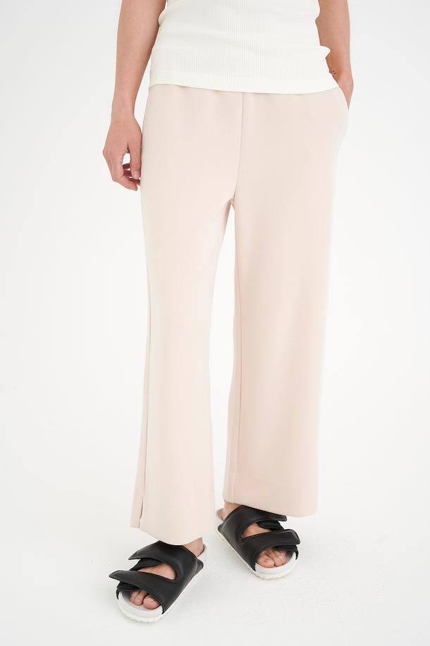 BecaIW Pants Powder beige