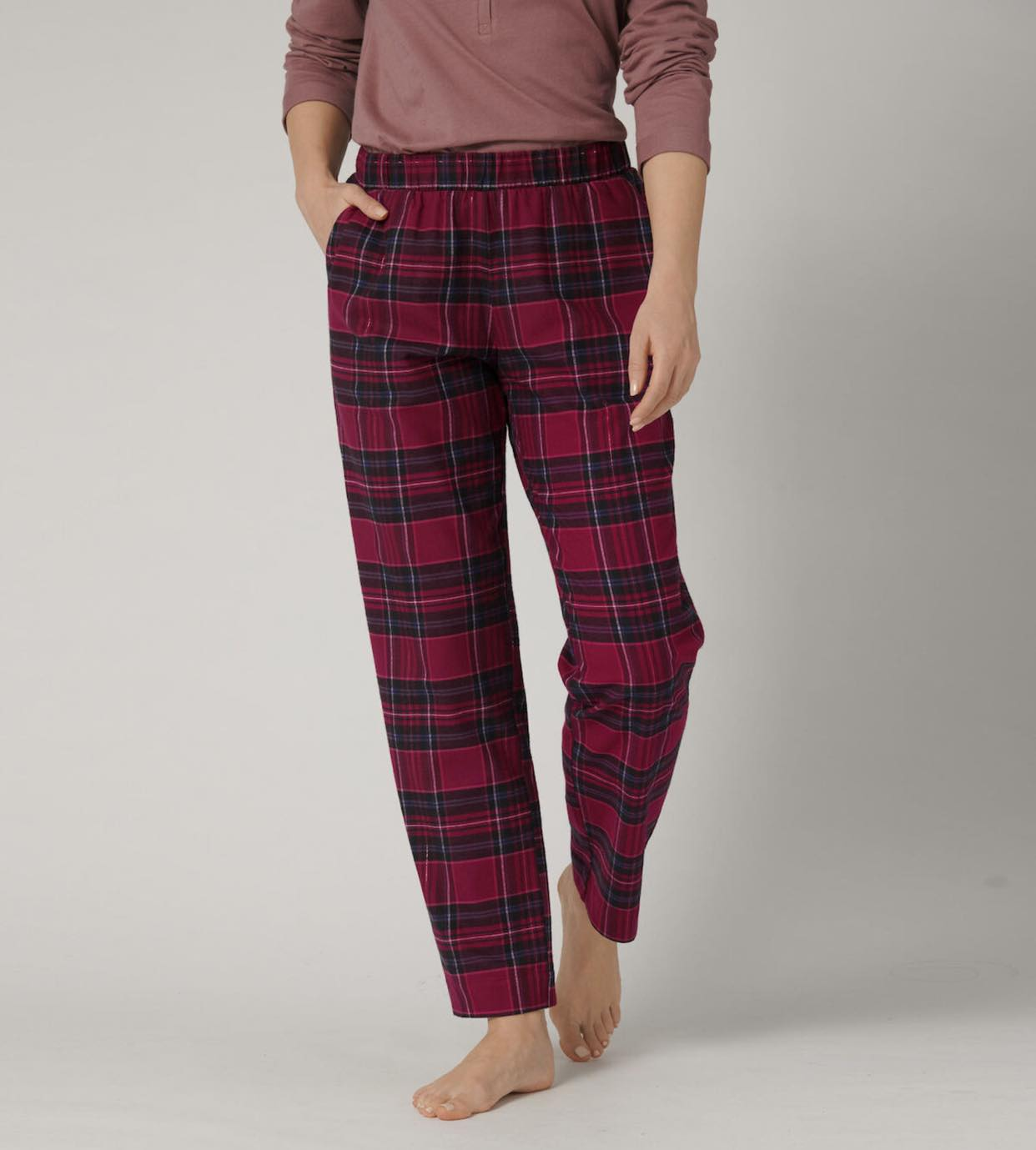 Mix & Match Tapered Trouser Flannel X