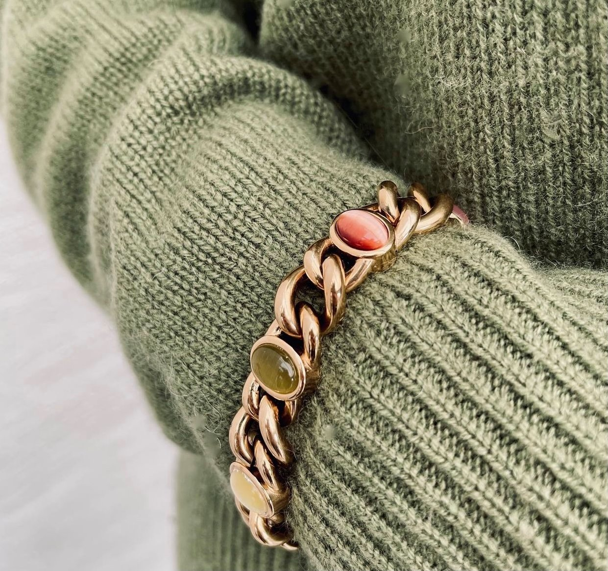 Retro Bracelet mix/gold
