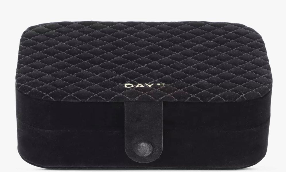 Day Q jewelry box, black