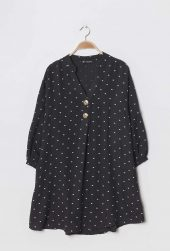 Christy Viscose Tunika m. dots