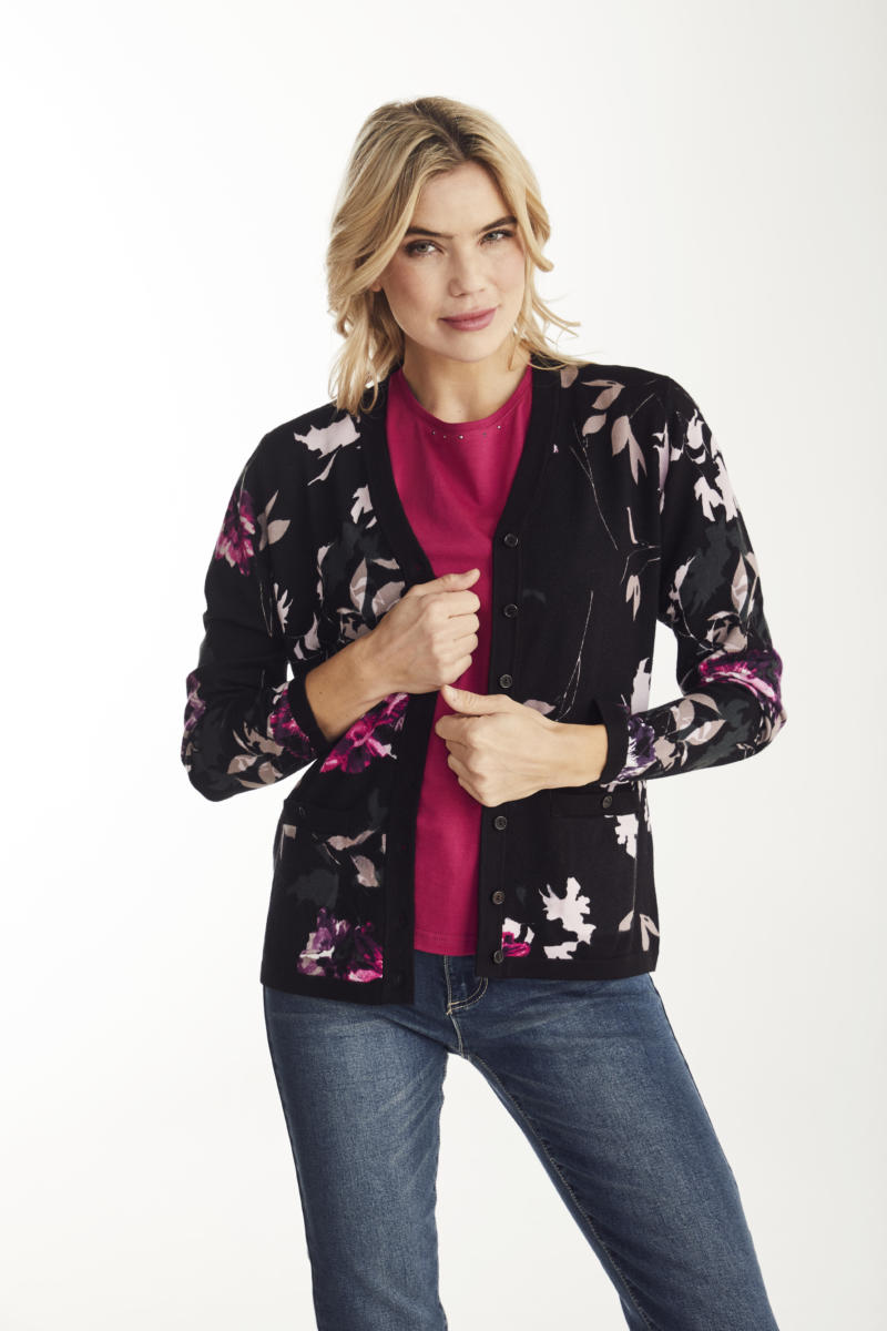 Noble Blomster Cardigan