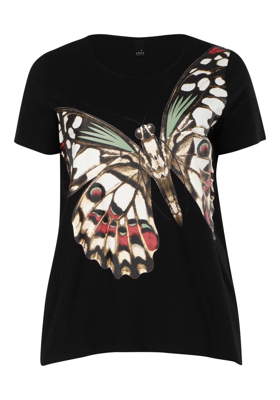 Adia Sommarfugl T-skjorte